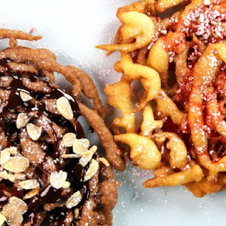 Funnel Cake Two Ways