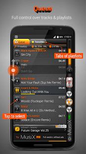 MusiX Player Lite - náhled