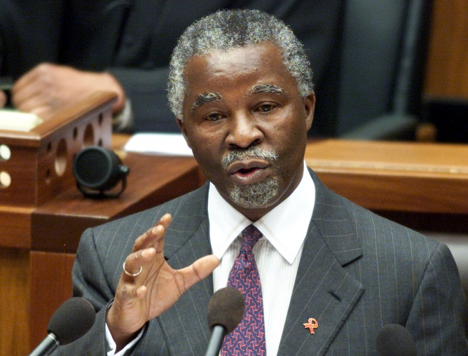 Thabo Mbeki. Picture: REUTERS