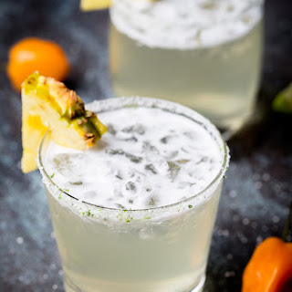 Habanero-Pineapple Margaritas