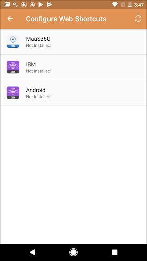 MaaS360 MDM for Android 6.05 screenshots 8