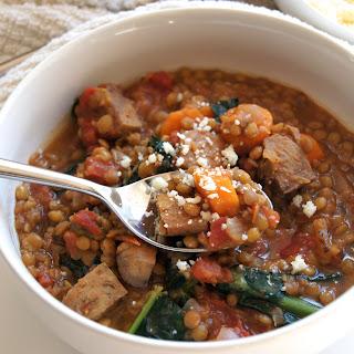 Slow Cooker Lentil Stew.