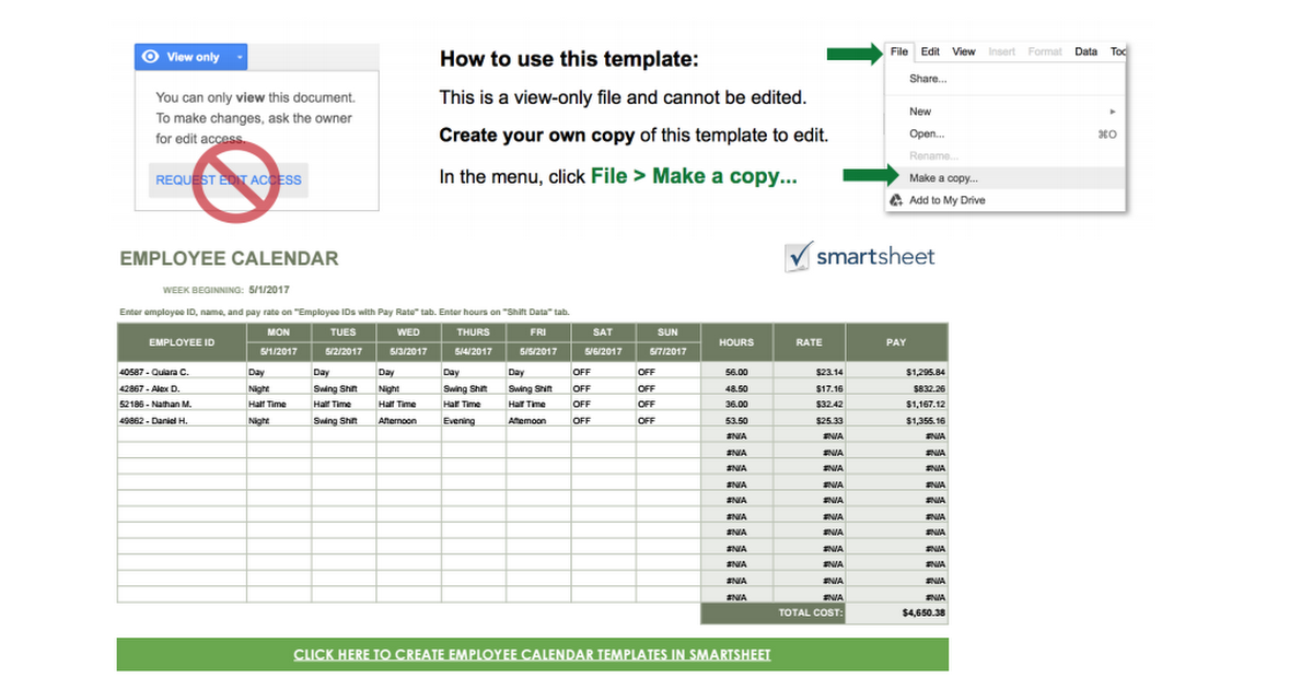 Human resources   how to written by: Ic Google Employee Calendar Template Google Sheets