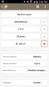 HPB Mortgage Loan Calculator screenshot 2