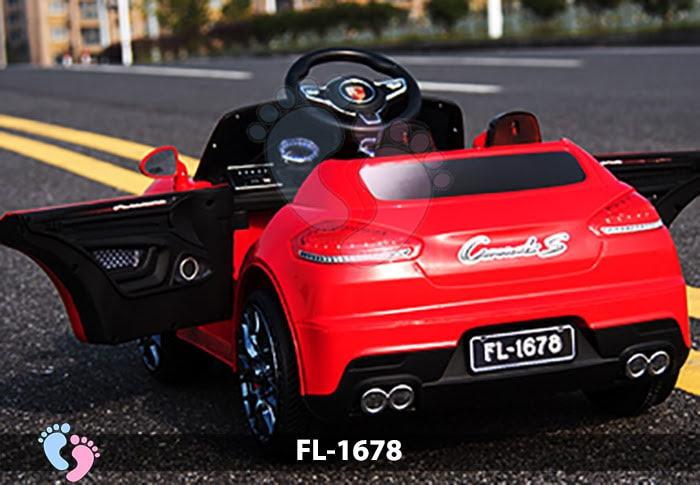 Xe điện thể thao cho bé Porsche FL-1678 6
