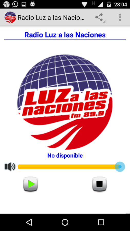 Radio Luz a las Naciones- screenshot