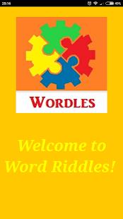 Wordles Brainteaser - náhled