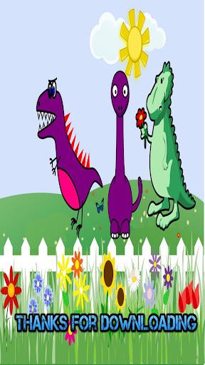 かわいい恐竜のゲーム