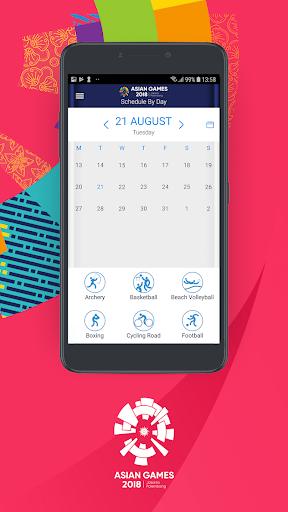 18th Asian Games 2018 Official App 1.0.2 screenshots 5