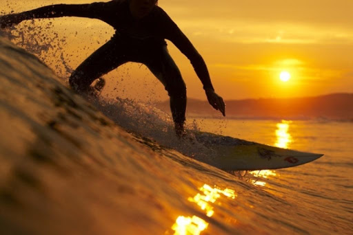 Sunset Surf Live Wallpaper