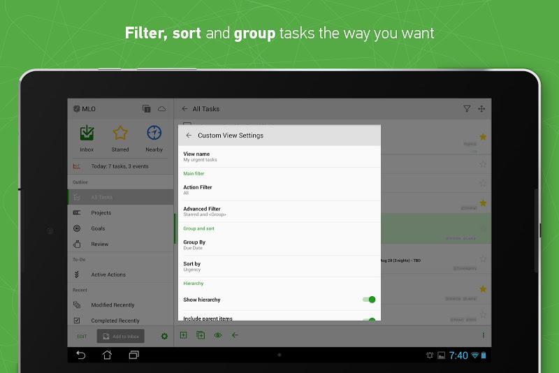 MyLifeOrganized: To-Do List Screenshot 12
