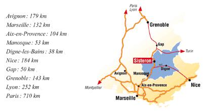 Как добраться на машине в Систерон (Sisteron): как проехать, карта, время в пути до других городов Франции, парковки в Систероне, путеводитель по Франции