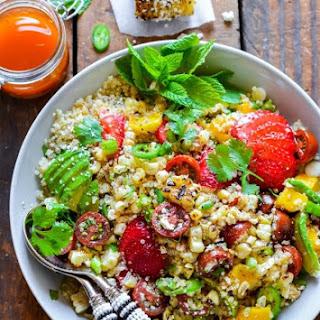 Mexican Street Corn Quinoa Salad
