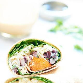 Healthy Sweet Potato Wrap