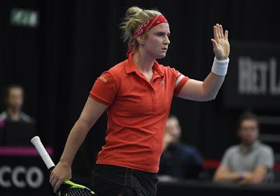 Ysaline Bonaventure haalde de kwartfinale in Lyon niet