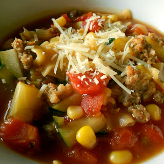 {Quick and Easy} Lasagna Soup