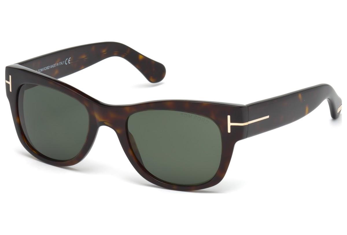 765008a6b23 Buy Tom Ford Cary FT0058 C52 52N (dark havana   green) Sunglasses ...