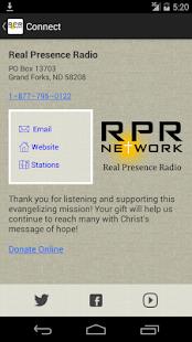 Real Presence Radio - náhled