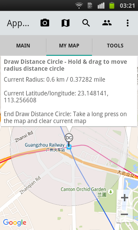 Appxis: Draw On Map, Map Tools- screenshot