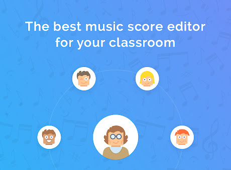 Flat for Education - Music notation editor
