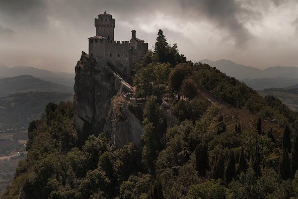 rocca di San Marino di angart71