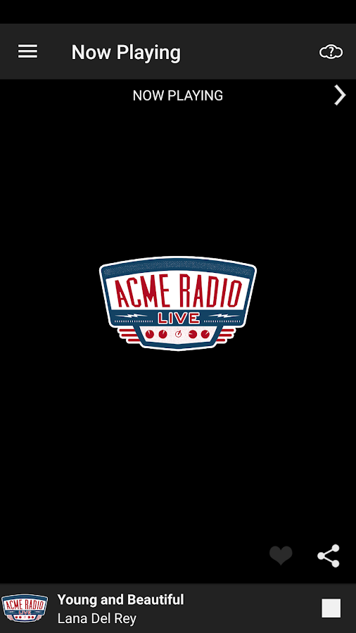 Acme Radio- screenshot