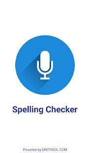 Spelling Checker - Voice Base Spelling Checker - náhled