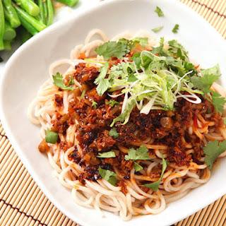 Vegan Dan Dan Noodles.