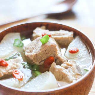 Pork Rib Soup with Daikon Recipe