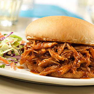 Campbell's® Slow-Cooked Pulled Pork Sandwiches.
