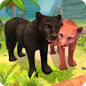 Panther Family Sim Online - Animal Simulator icon