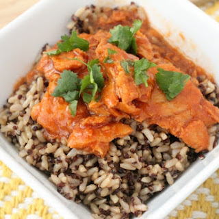 Sweet and Spicy Honey Lime Salmon over Brown Rice and Quinoa Recipe! Lunch Idea Ready In Under 5 Minutes!