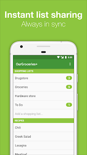 Our Groceries Shopping List Premium v3.1.3 Cracked APK 2