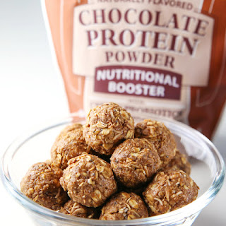 Healthy Chocolate Protein Bites Recipe