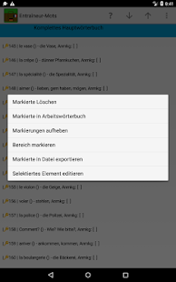 Bon Courage! Wortschatzcoach- screenshot thumbnail