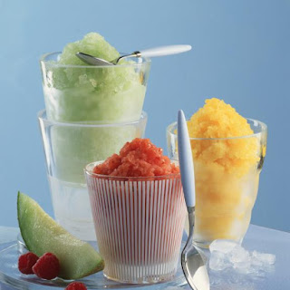 Strawberry Mango Granita