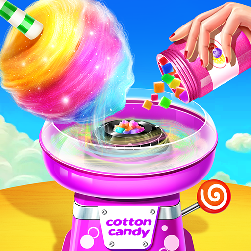 💜Cotton Candy Shop - Cooking Game🍬
