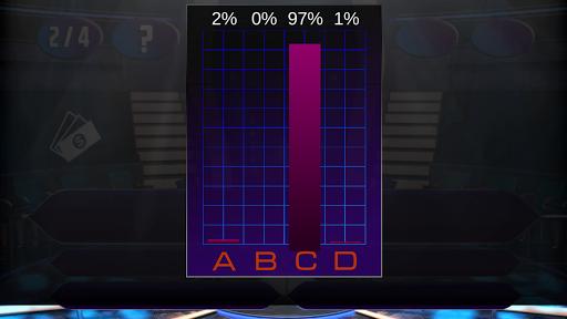 Screenshot for Millionaire 2019 Quiz Premium in Hong Kong Play Store