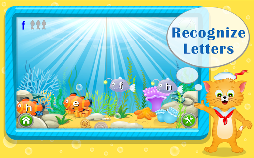 Learn ABC Letters with Captain Cat  screenshots 1
