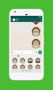 Monkey Stickers for WhatsApp (WAStickerApps) 4