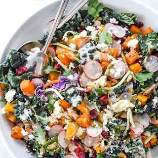 Chopped Mexican Kale Salad and Better Blog Retreat 2016.