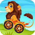 Animals Racing for Kids icon