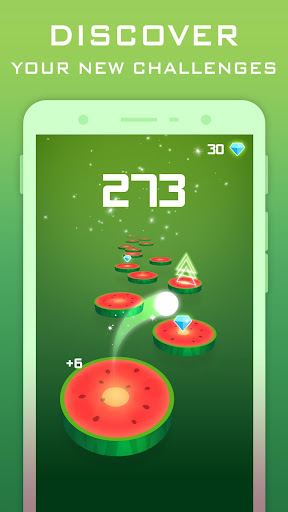 Splashy Tiles: Bouncing To The Fruit Tiles - screenshot