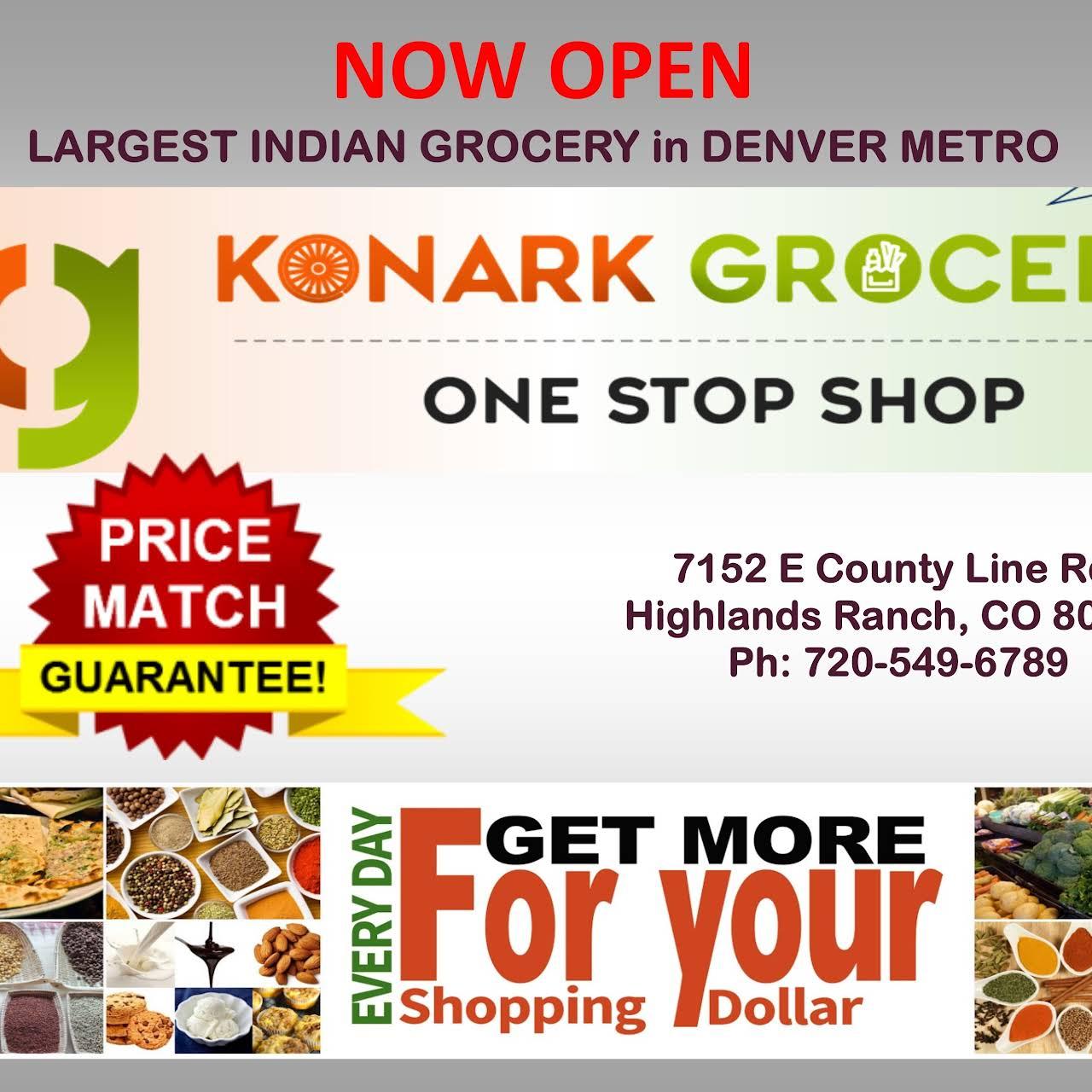 Konark Grocers - Indian Grocery Store in Highlands Ranch