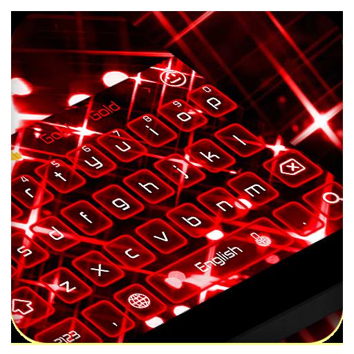 Tech Red Keyboard