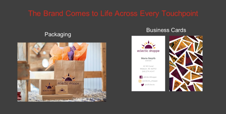 webinar for business cards and packaging from ecommerce company