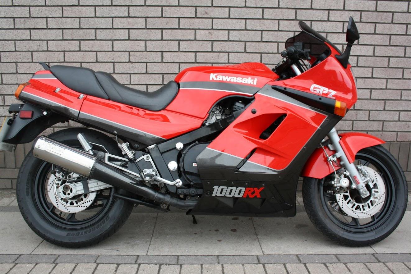Kawasaki GPZ 100 Ninja-manual-taller-despiece-mecanica