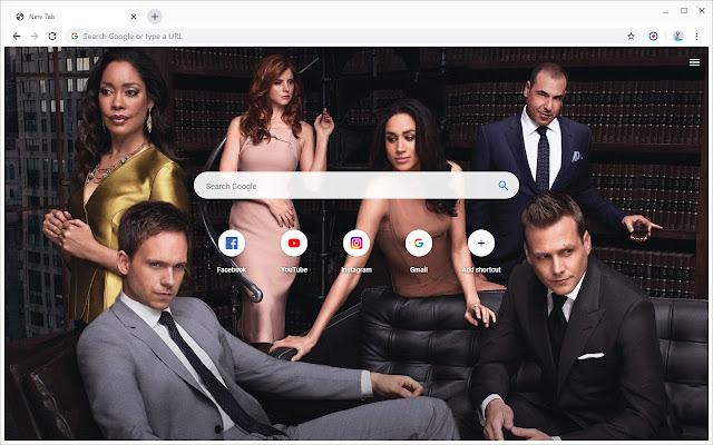 New Tab - Suits