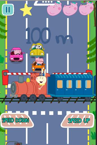 子供の車の旅