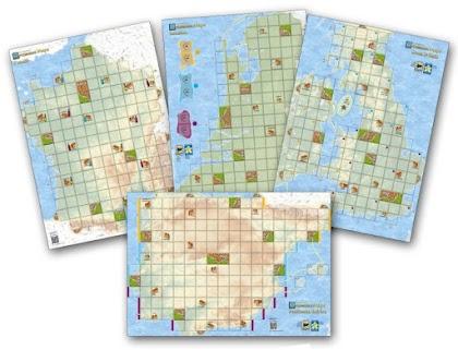 Carcassonne Maps